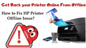 hp printer offline