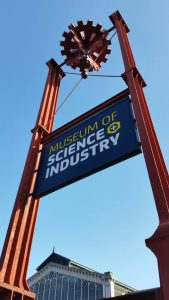 Travel back in time at the Museum of Science and Industry.